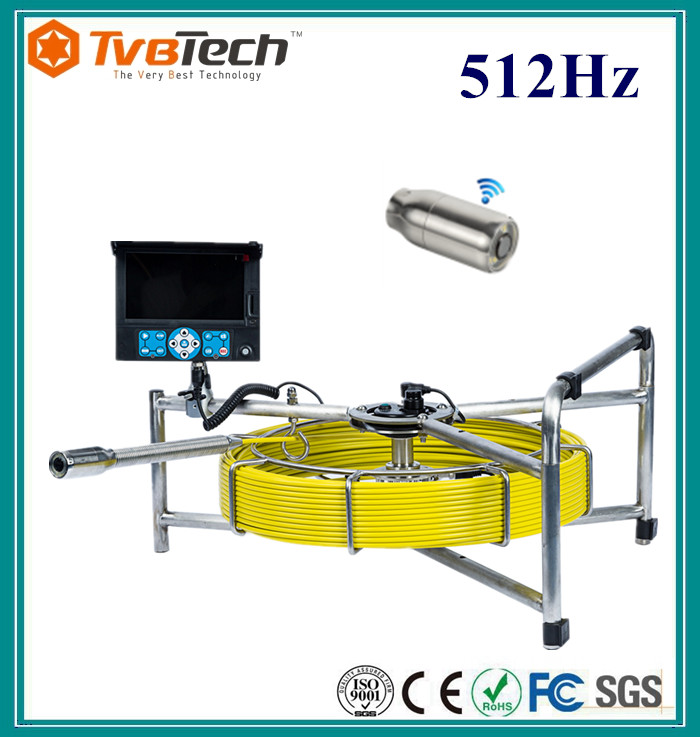 TVBTECH Video Borescope Inspection Camera for Sewer Inspection Camera