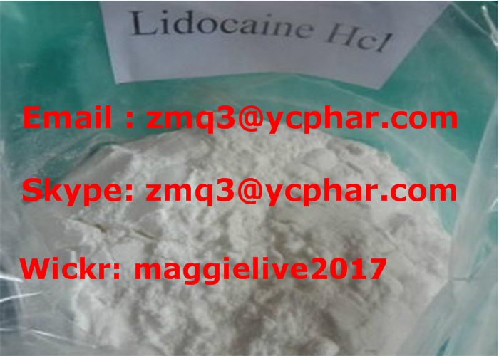 99% High Purity Lidocaine Hydrochloride Lidocaine HCl CAS 73-78-9