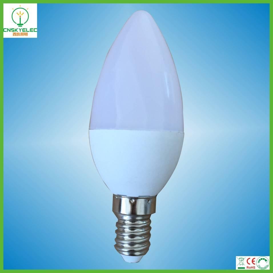 led candle bulb 3w