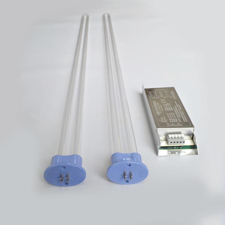 150W 810mm U shape uvc lamp for smell removal