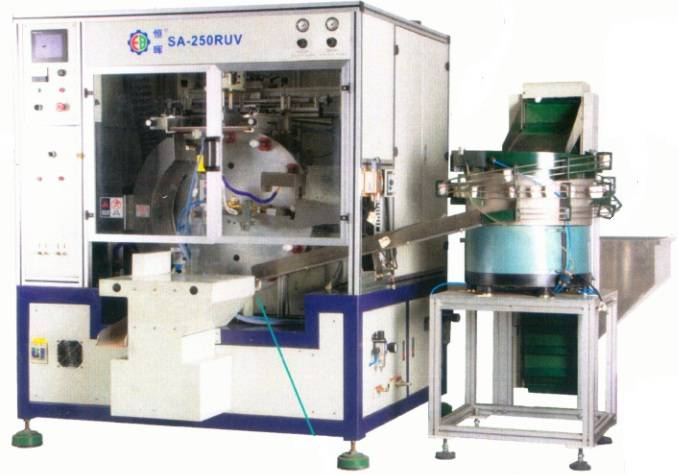 SA-250RUV Fully Automatic Cylindrical Surface Screen Printing Machine