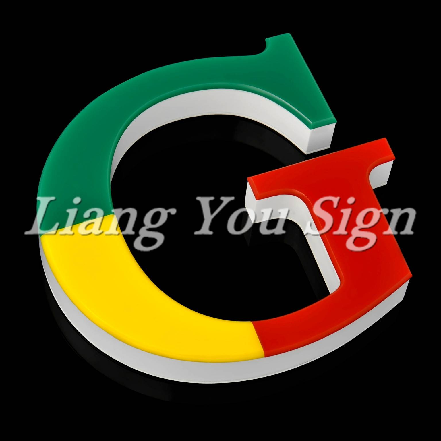2017 Merry Christmas Acrylic Outdoor Advertising Front-lit built up letter