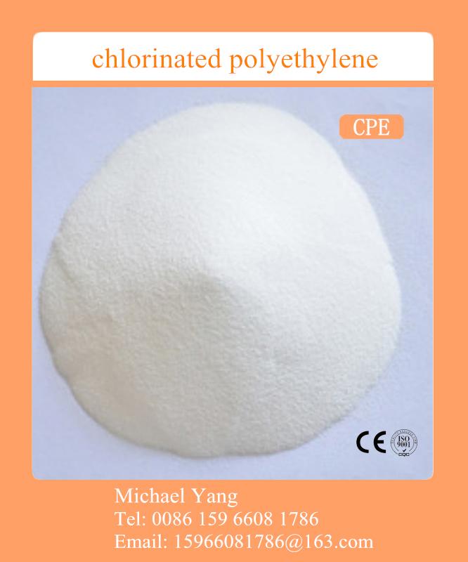 CPE, chlorinated polyethylene, PVC addtives, PVC impact modifier