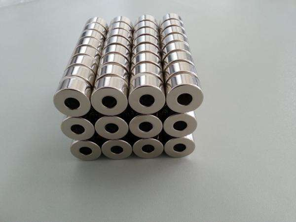 largest rare earth neodymium magnet Magnetic Power ring NdFeB