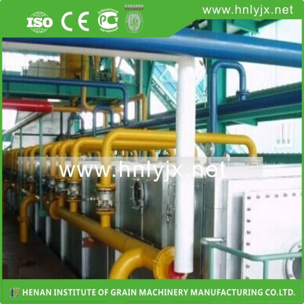 200Tons rice bran oil solvent extraction turnkey project