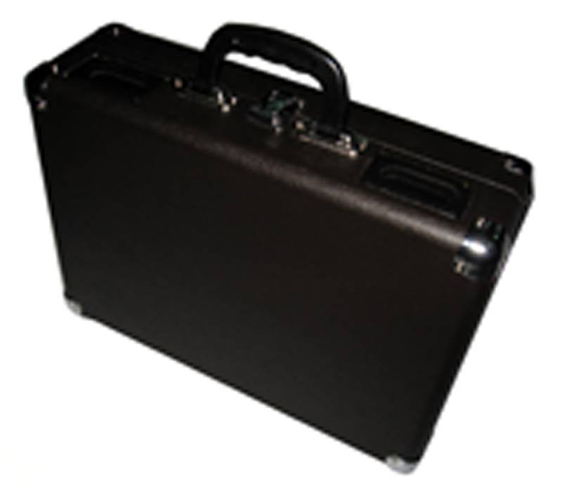 black suitcases leather turntable record  player
