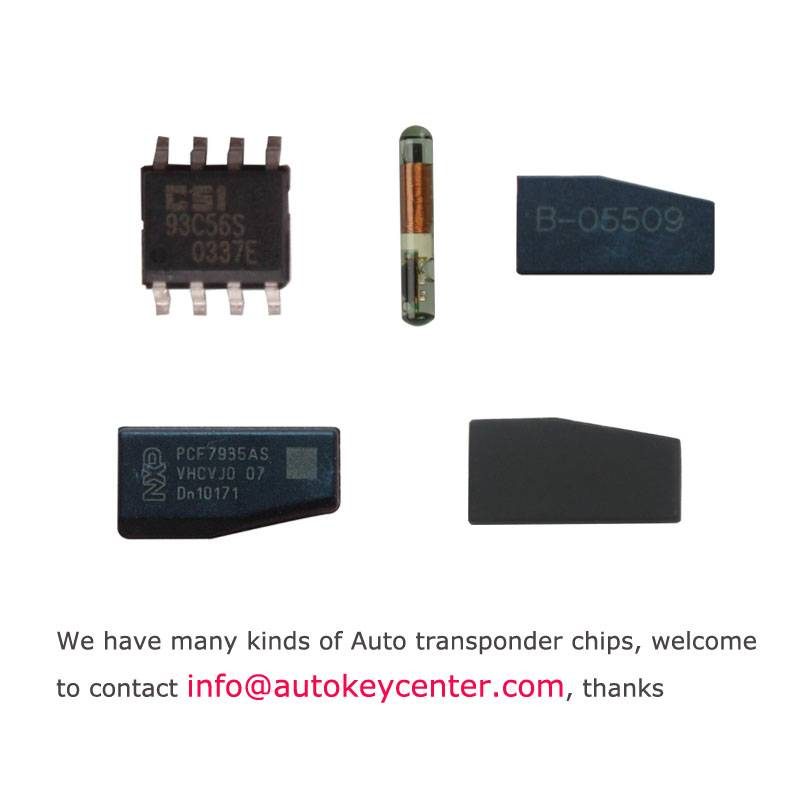 Auto Transponder Chip ID40 46 48 chip for VW AUDI BMW Mercedes-Benz and so on