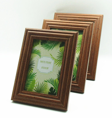 walnut New design photo frame, for table top and wall decorative