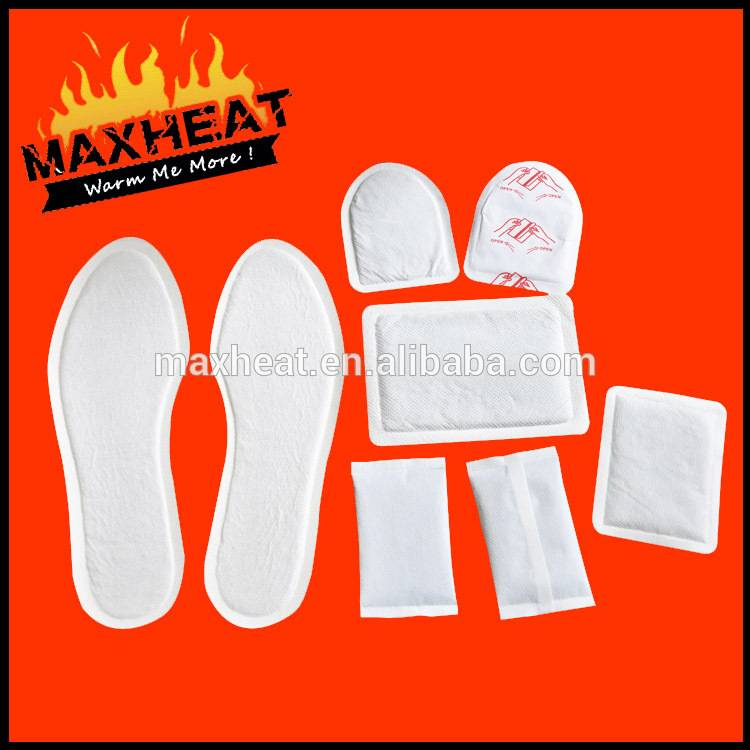The portable & hot sale self-warmer heating patch/body warmer/warmer pad