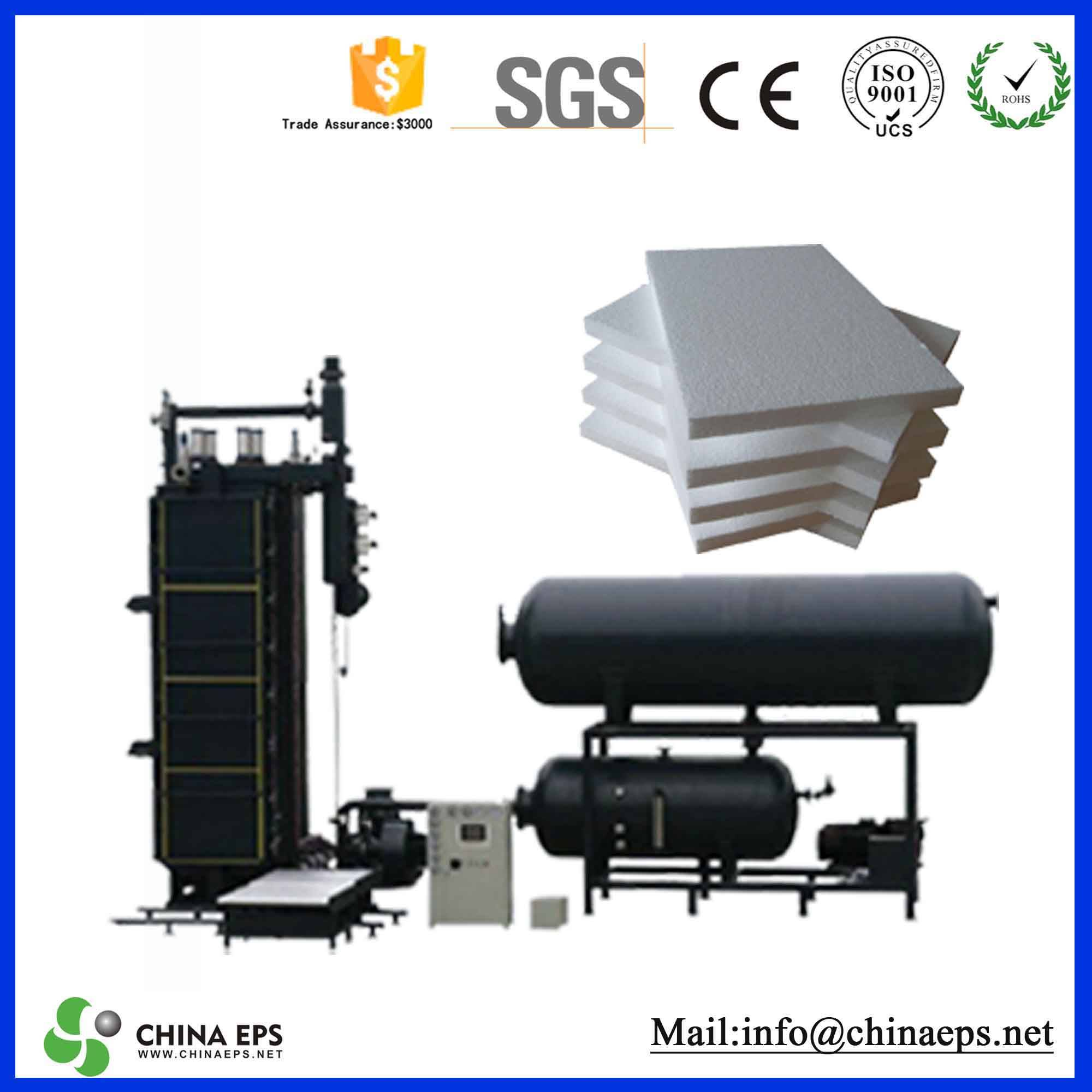 Automatic eps block moulding machinery sales