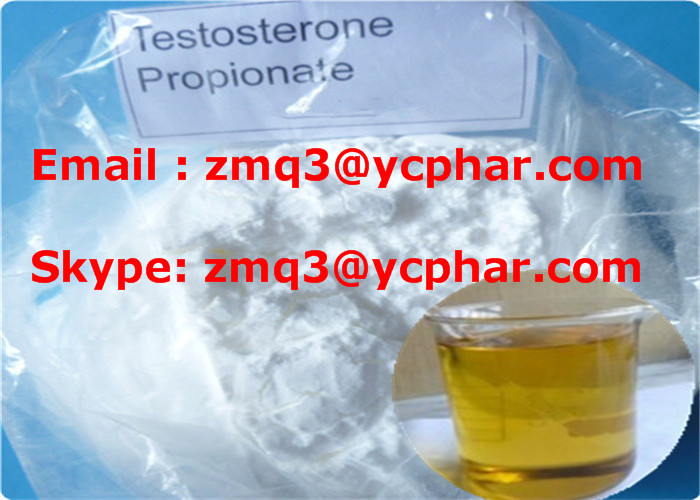 Testosterone Propionate CAS 57-85-2 Test Prop Cutting Cycle Steroids