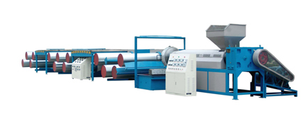 Tape/Yarn extrusion line-PP/PE Flat Yarn Extruder
