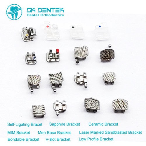 Dental Orthodontic Mini Bracket MIM Bracket Roth Mbt orthodontic Bracket