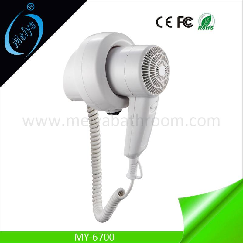 new style wall mounted hair dryer for hotel