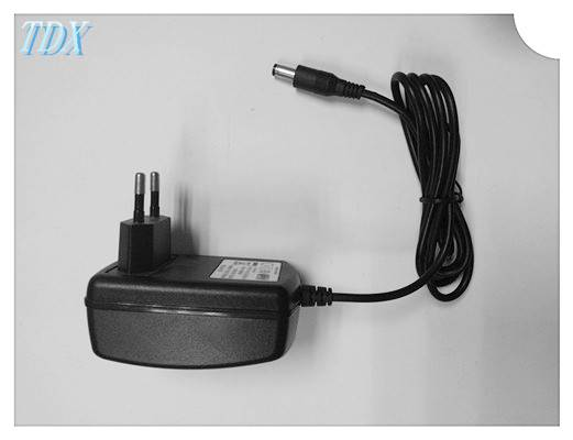 24w wall mount power supply for portable dvd player with CE ROHS FCC ASS test free samples