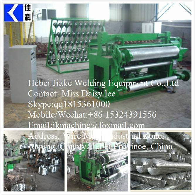 Full Automatic Electric Welded Mesh Machines for Roll Mesh