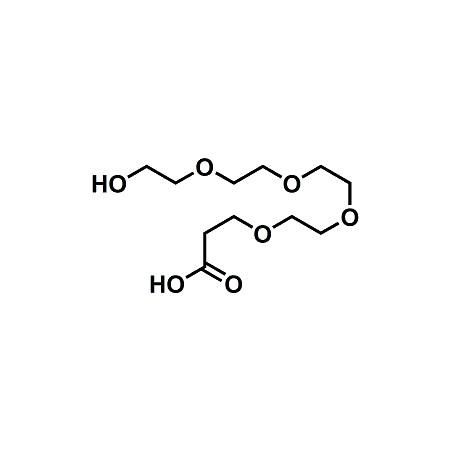 Hydroxy-PEG4-propionic acid; HO-PEG4-CH2CH2COOH; CAS#937188-59-5