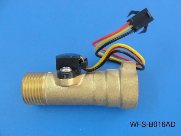 High temperature resistant all copper water flow sensor WFS-B016AD