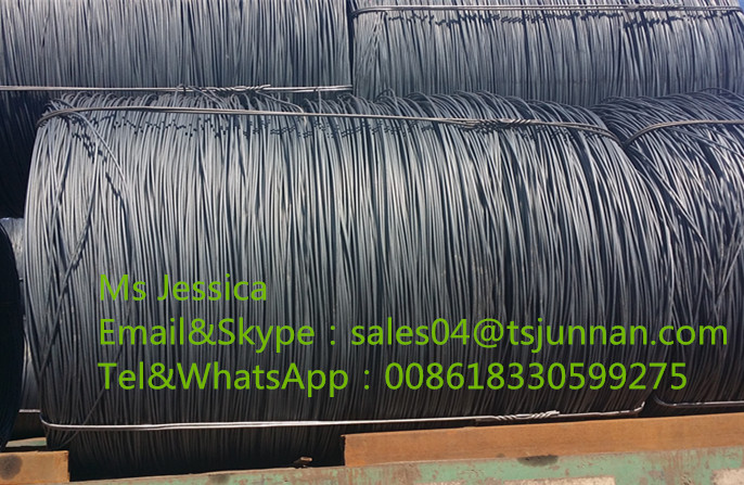 5.5mm/6.5mm/8mm/10mm SAE 1006 SAE1008 steel wire rod