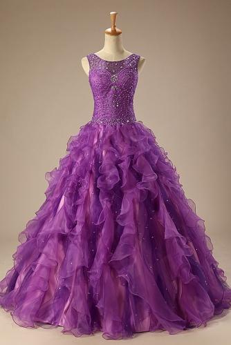 Purple Quinceanera Dresses-2020