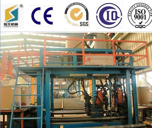 Horizontal h beam manufacturing machine