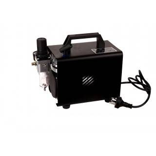 Airbrush compressor with cover AS18A