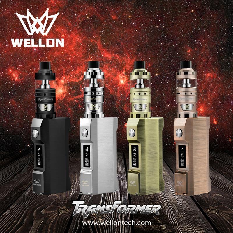 Wellon Provide E-cigarette wholesale Service from China