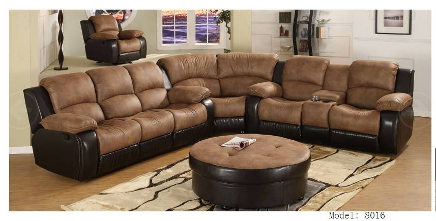 home furniture and leather sectional sofa in China