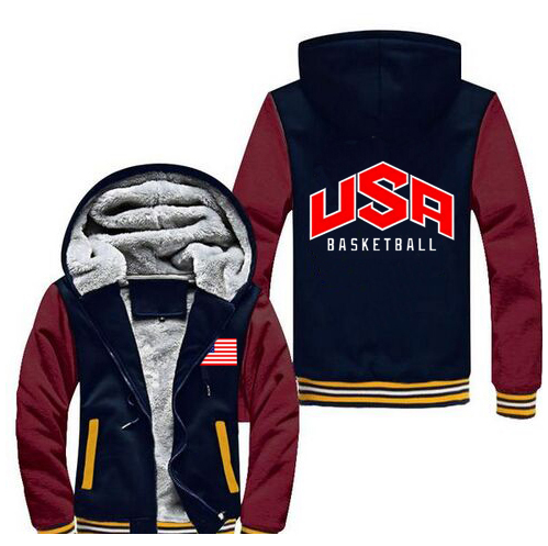 USA American Flag Hoodies Men Brand Jersey 2016 New Fashion Tops Hip Hop Thicken Zip up Men's Cloth