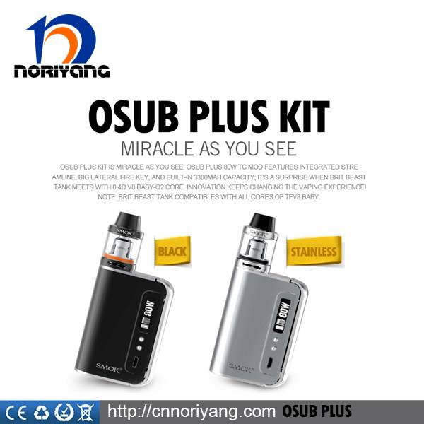 Noriyang Original Authentic Smoktech OSUB Plus Kit With 80W Maximum Power High Quality OSUB Plus Kit
