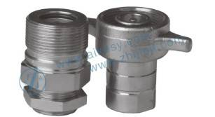 steel screw wing nut hydraulic quick release coupling