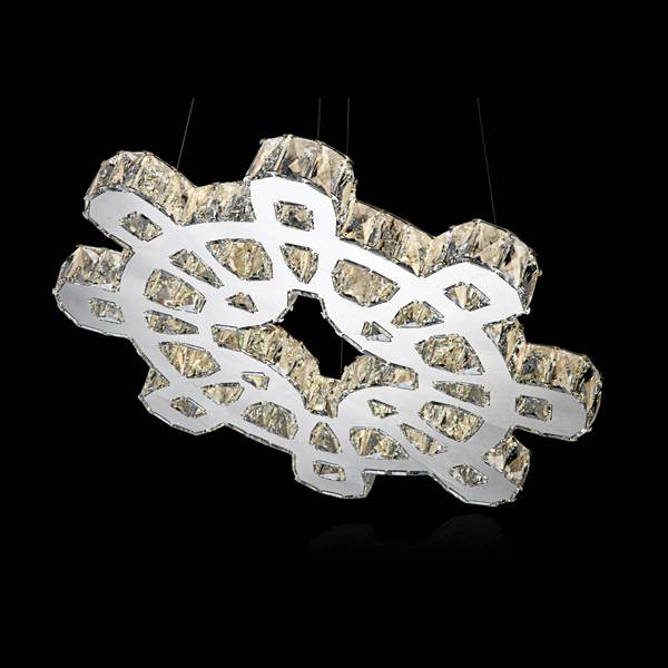 Contemporary LED crystal pendant light wholesale