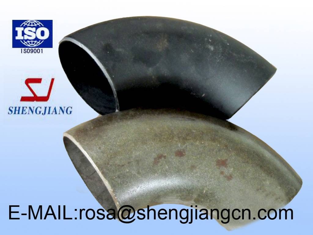 China pipes fittings stainless steel/carbon steel 45/90/180 degree Elbow dimensions