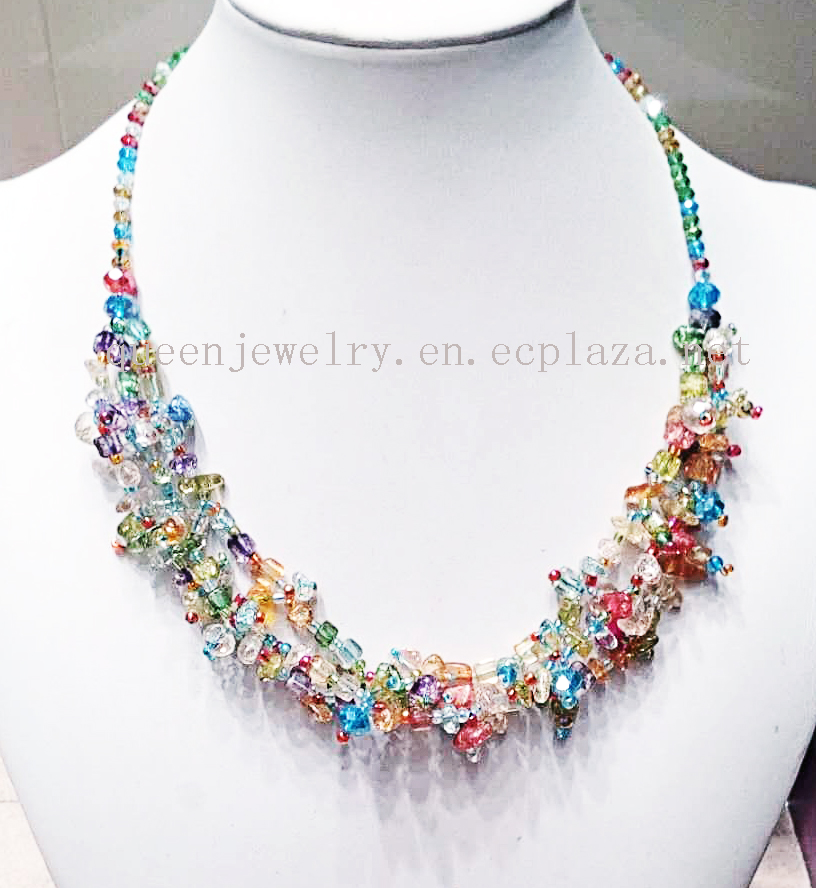 Jade gemstone Factory Wholesale Exquisite colorful stone Beads Mix earring