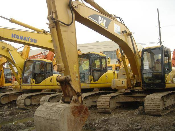 Used Original Excavator CAT320C
