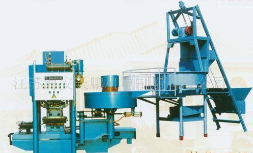 JS-600 Automatic terrazzo tile press machine