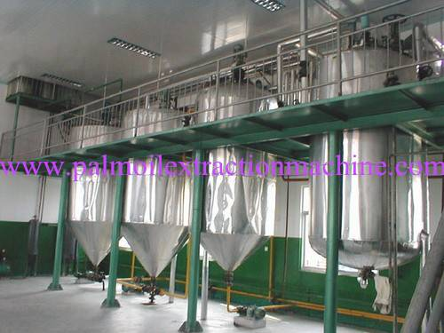 China top supplier palm oil refinery machine with best price
