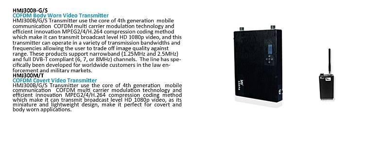 Low price high quality Digital Wireless Video Cofdm Receiver