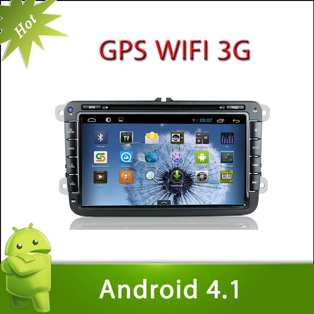 """8"""" 2 din VW TRANSPORTER android 4.1 car DVD with Radio,GPS,Ipod,Bluetooth,SWC,Wifi,PIP,3D UI"""