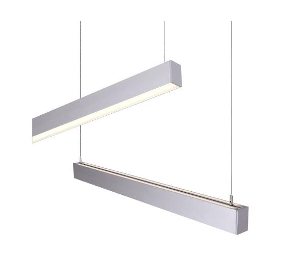 IP20 LED linear light pendant lighting in high quality extruded aluminum alloy
