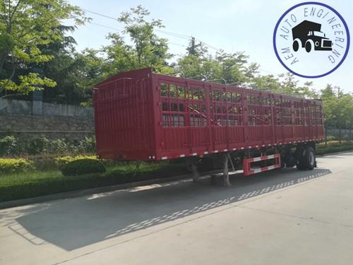 Cage semi trailer