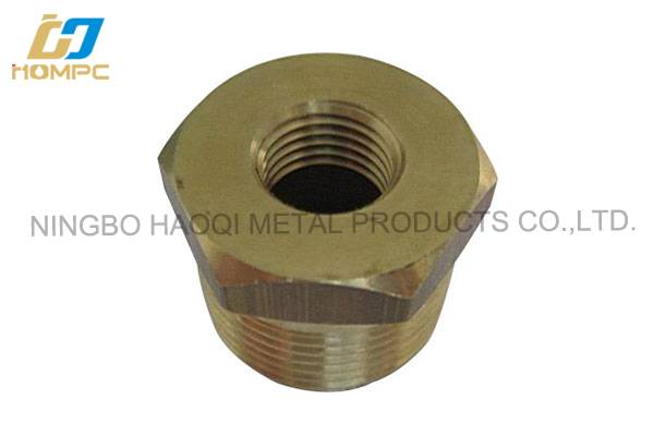 NPT Thread Forged Brass Hex Bushing for USA Market