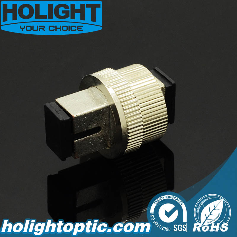 0~30dB Sc Fiber Optic Mechanical Adjustable Attenuator
