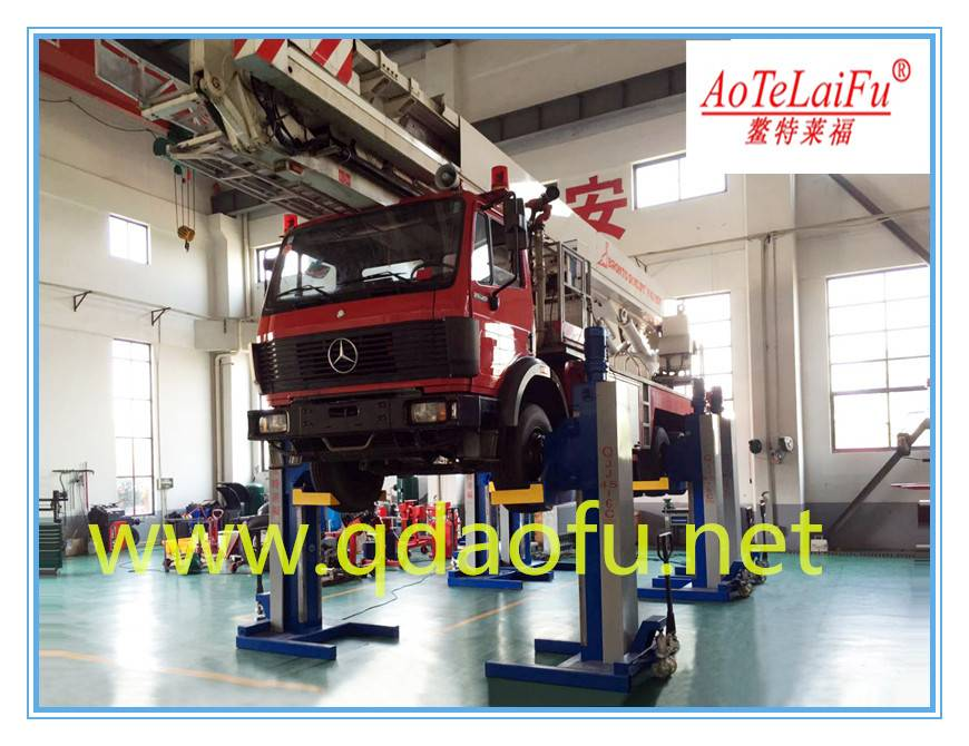 4 post car lift 20t made in China