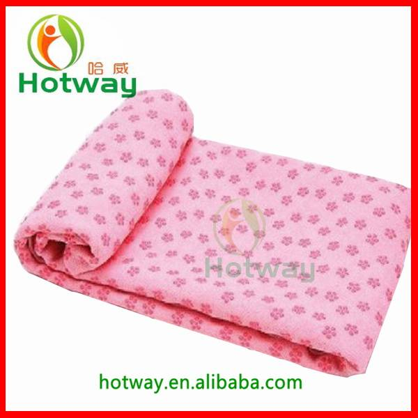 Wholesale Custom Non-slip Microfiber Hot Yoga Towel