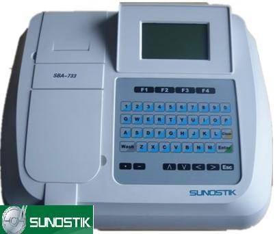 Sunostik Semi-auto Biochemistry Analyzer SBA-733+