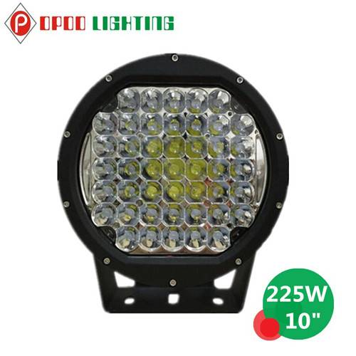 "Hot Sale 10"" Round Offroad 225W Led Driving Light"