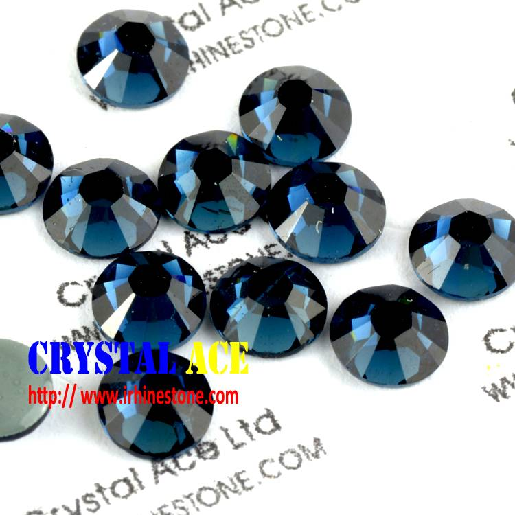 SS20 montana Korean crystal hotfix rhinestone,leadfree hotfix crystal for decoration