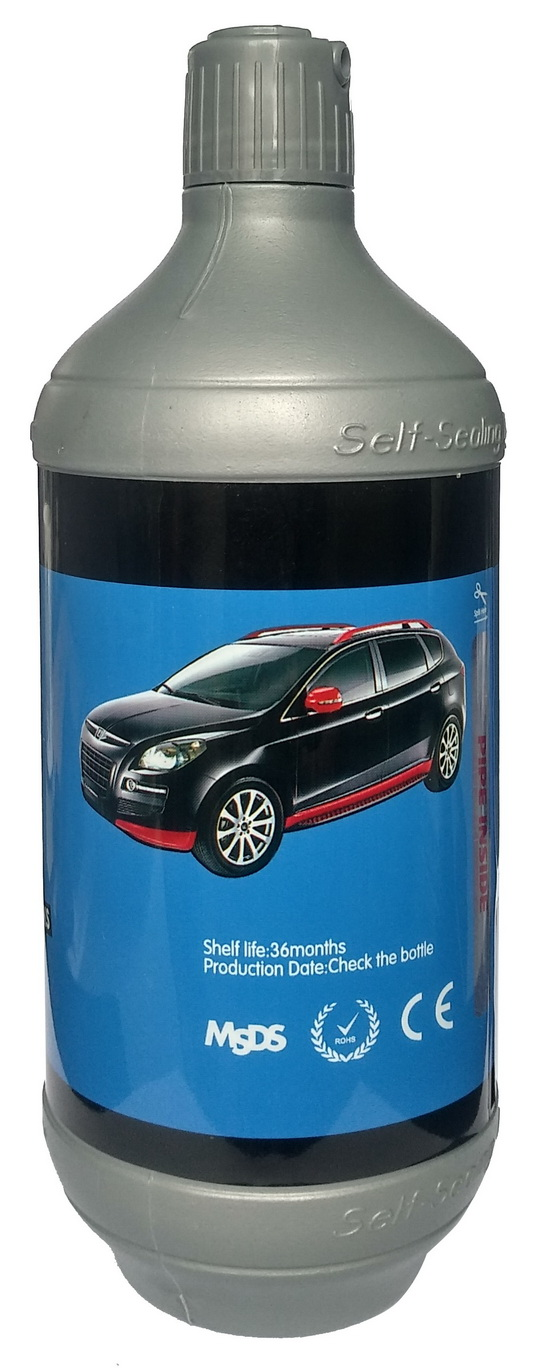 OEM Non-Flammable and Anti-rust 600ml Tyre Sealant ,Tire Puncture Prevention