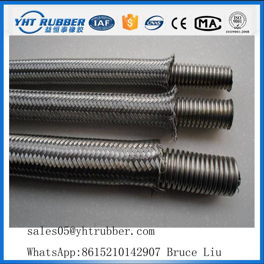 Corrugated Flexible 304 Stainless Steel Braided Hose